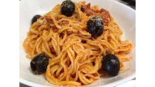 【イタリア料理】自家製麺でプッタネスカを作った