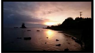 【年末年始企画】富山城址公園から雨晴海岸まで歩いて初日の出を観にいった