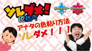 【ポケモン剣盾】~ソレダメ!色粘り~ 剣盾の色違い粘り注意点まとめ