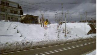 塚山駅近くの踏み切り跡