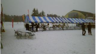 地元雪祭り行って来た。