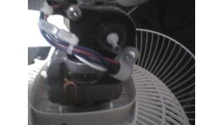 扇風機がぶっ壊れた