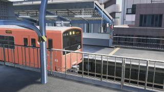 【電車でGO!!】街に煌めくバーミリオン。【大阪環状線】