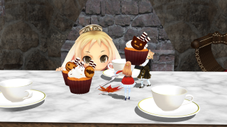 「ハロウィンのお茶会」の裏側