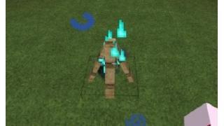 自称中級者のMinecraft日記 番外編9-4 The Camping Mod(虹色なWooden Campfire と焼きマシュマロ)
