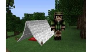 自称中級者のMinecraft日記 番外編9-5 The Camping Mod(追加Mob:Camper、キツネ、クマ)
