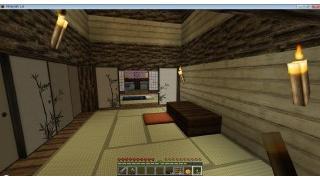 自称中級者のMinecraft日記 part.166 二の丸建築編(30) 側室居室