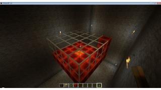 自称中級者のMinecraft日記 番外編7-2 炎ブロック・溶岩による延焼実験