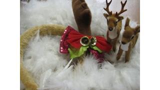 作ってみた22 -クリスマス用カチューシャをリメイク-
