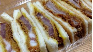 食べてみた6ーみずの酒店さんの『漢(オトコ)のカツサンドゥ~』ー