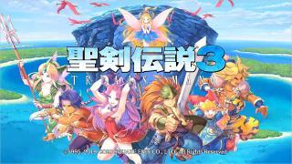 コメレス &【聖剣伝説3 リメイク】初神獣。vs 土の神獣 ランドアンバー【実況】Part37