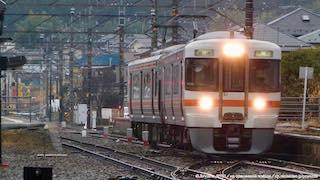 雨の飯田線北部 ~飯田市~(動画付き)
