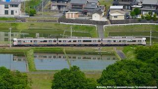 313系1600番台の快速飯田行き(動画付き)