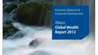 Net financial assets. - Allianz Global Wealth Report 2012.
