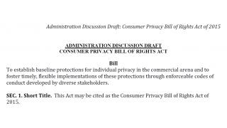 消費者プライバシー権法案「CONSUMER PRIVACY BILL OF RIGHTS ACT」(米国ホワイトハウス)