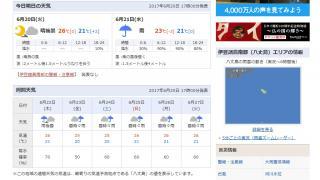 その59:梅雨八丈島アイランド(1日目)