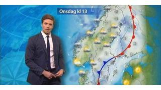 【日記】スウェーデンのお天気おにいさんが、凄い衣装で登場して話題になったらしい。