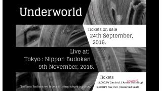 【イベント情報・当日券】UNDERWORLD LIVE AT NIPPON BUDOKAN