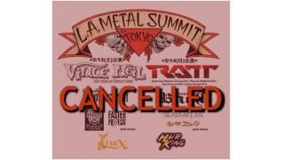 【イベント情報・重要】LA METAL SUMMIT 開催中止