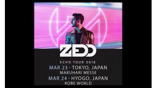 """【イベント情報・3/23~】ZEDD """"ECHO"""" TOUR 2018"""