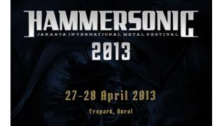 【イベント情報・海外】HAMMER SONIC FESTIVAL 2013