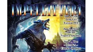 【ライブレポ】IMPELLITTERI 30TH ANNIVERSARY TOUR (2019.06.01)