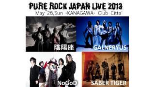 【イベント情報】PURE ROCK JAPAN LIVE 2013