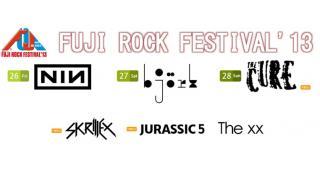 【NEWS】FUJI ROCK FESTIVAL 13 オンエア情報