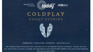 【NEWS】COLDPLAY のシドニー公演が、ストリーミング配信されるとか。