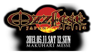【イベント情報】OZZFEST JAPAN 2013 第4弾発表