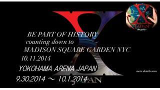 【イベント情報】X JAPAN