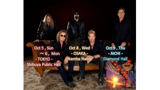 【イベント情報・追記 8/25】NIGHT RANGER JAPAN TOUR 2014