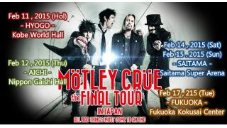 【イベント情報】MOTLEY CRUE THE FINAL TOUR IN JAPAN