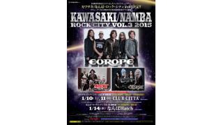 【イベント情報】KAWASAKI / NAMBA ROCK CITY VOL.3
