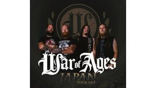 【イベント情報】WAR OF AGES JAPAN TOUR 2015