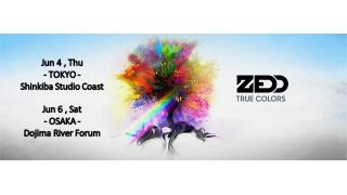 """【イベント情報】ZEDD """"TRUE COLORS"""" PREMIUM LIVE 2015"""