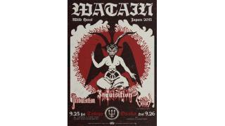 【イベント情報】WATAIN - THE WILD HUNT - TOUR JAPAN 2015
