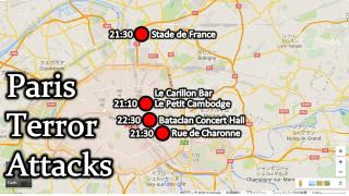 【NEWS】パリで同時多発テロが発生。120人超の命が奪われる。