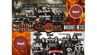 【イベント情報】OZZFEST JAPAN 2015