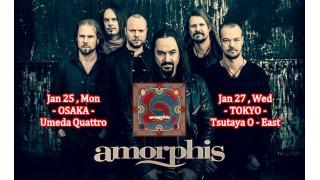 【イベント情報】AMORPHIS JAPAN TOUR 2016