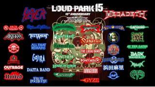 【NEWS】WOWOW で LOUD PARK 15 特番