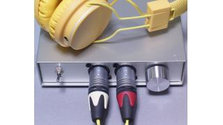 作った差動ヘッドフォンアンプを測ってみた、4台め。