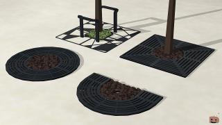 [MMDアクセサリ配布] 樹木保護板 [利用規約]