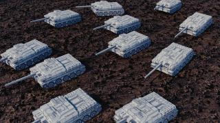 かんたんに戦車や車や銃を作る方法【自分で作ったBlenderのアドオンを紹介】