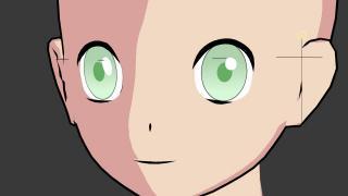 目のハイライトの作り方【3DCG(Blender)で日本のアニメ的な表現をする方法まとめ】