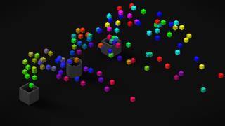 『Particle Instantiator』その4 lifetimeの使い方【Blenderの便利なアドオンを超簡単に紹介】