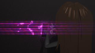 メタルギアソリッドV グラウンド・ゼロズの文字が消える特殊効果をやってみる【ゲームの演出を再現】