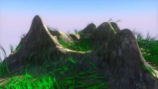 草の生やし方【自分で作ったBlenderのアドオンを紹介】