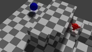 AIを作って超簡単に群衆アニメーションを作ろう!! その1 迷路を解く【Blenderゲームエンジン講座】