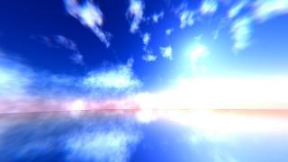 流れる雲の作り方【Blenderでゲームの演出を再現】